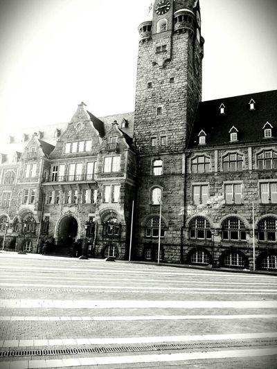 Remscheid Rathaus Germany Rathaus GtN7100 Smartphonephotography Stadt Biancoenero Vintage