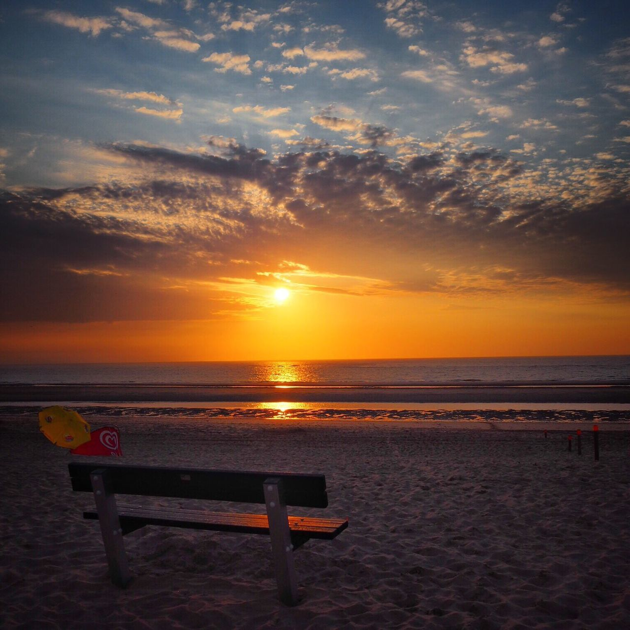 Sunset Sunset_collection Sea Sea And Sky Beach Beachphotography Oostkapelle The Essence Of Summer Feel The Journey Original Experiences 43 Golden Moments Hidden Gems  Colour Of Life Eyeemphoto My Year My View