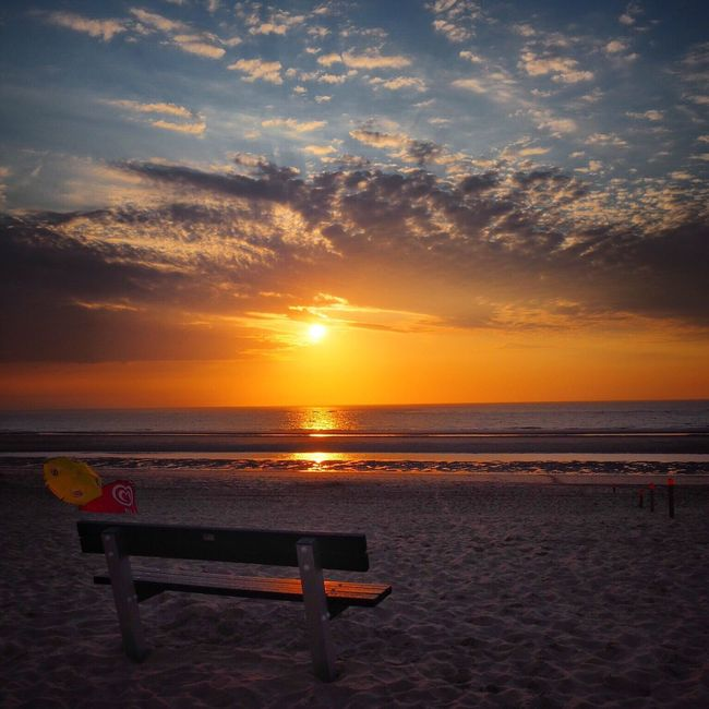 Sunset Sunset_collection Sea Sea And Sky Beach Beachphotography Oostkapelle The Essence Of Summer Feel The Journey Original Experiences 43 Golden Moments Hidden Gems  Colour Of Life Eyeemphoto