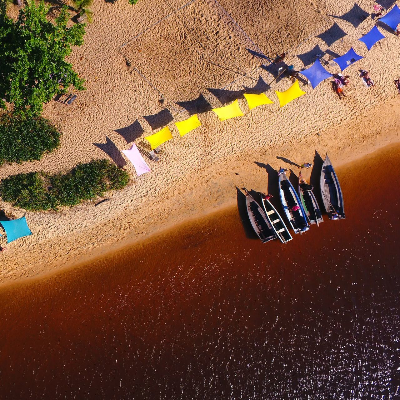 Vacations Nature High Angle View Aerial Photo Drone Photography Drone Shot Water Caraíva -Brazil River Aerial Shot Aerial View The Week On EyeEm Lost In The Landscape Connected By Travel EyeEmNewHere Second Acts Perspectives On Nature Rethink Things