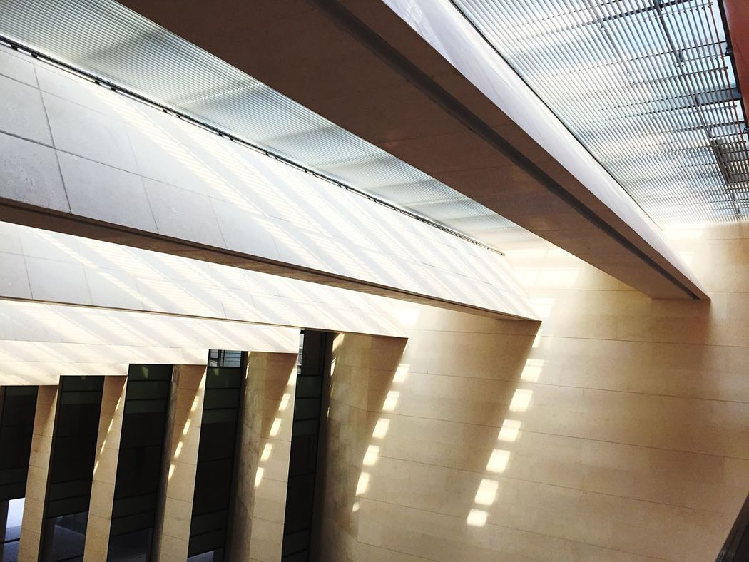 Interior Design Roof Museum Light And Shadow