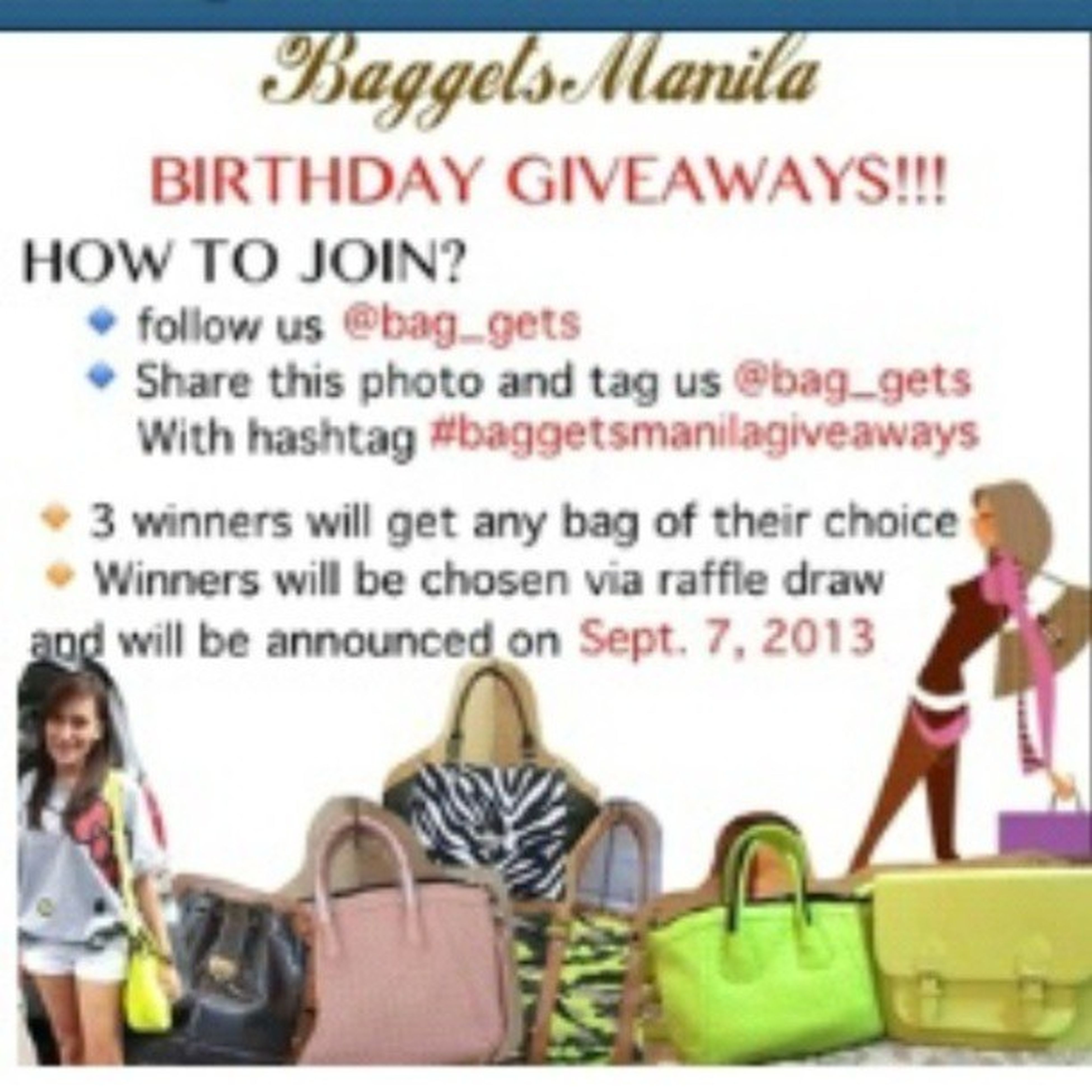 yey! want this :) @bag_gets Baggetsmanilagiveaways