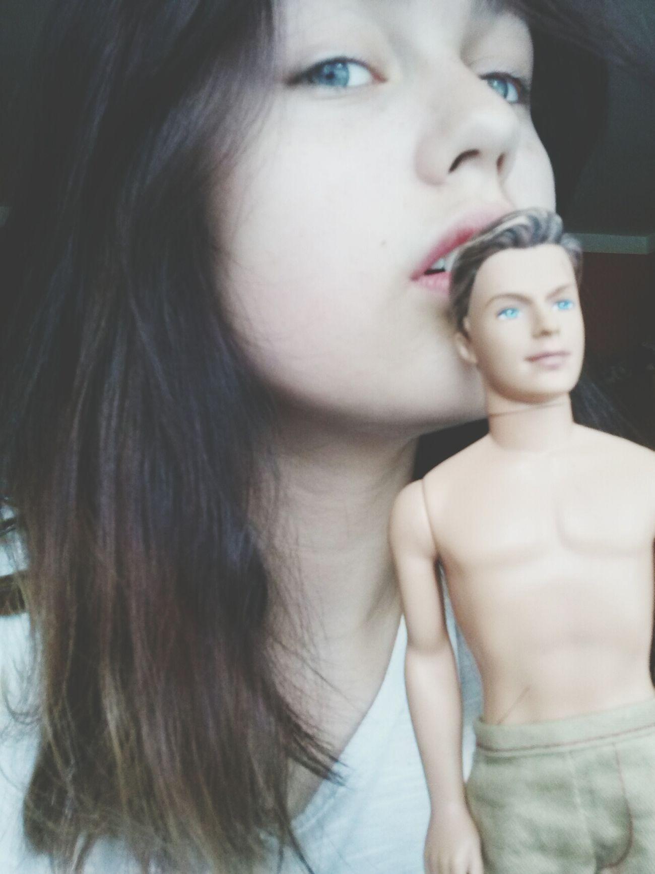 Selfie Girl Boy Hello World