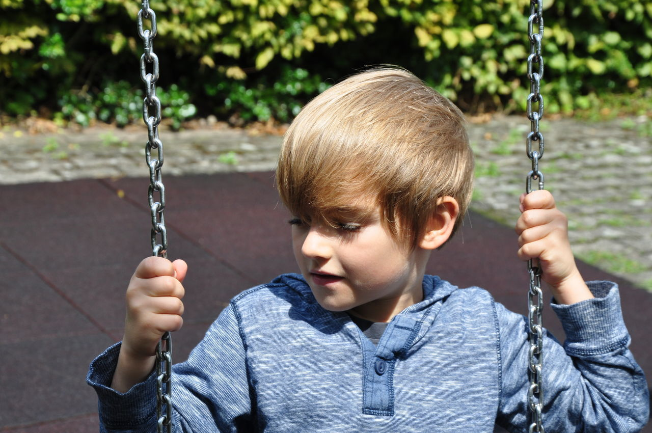 Beautiful stock photos of game, Blond Hair, Boys, Casual Clothing, Caucasian Ethnicity