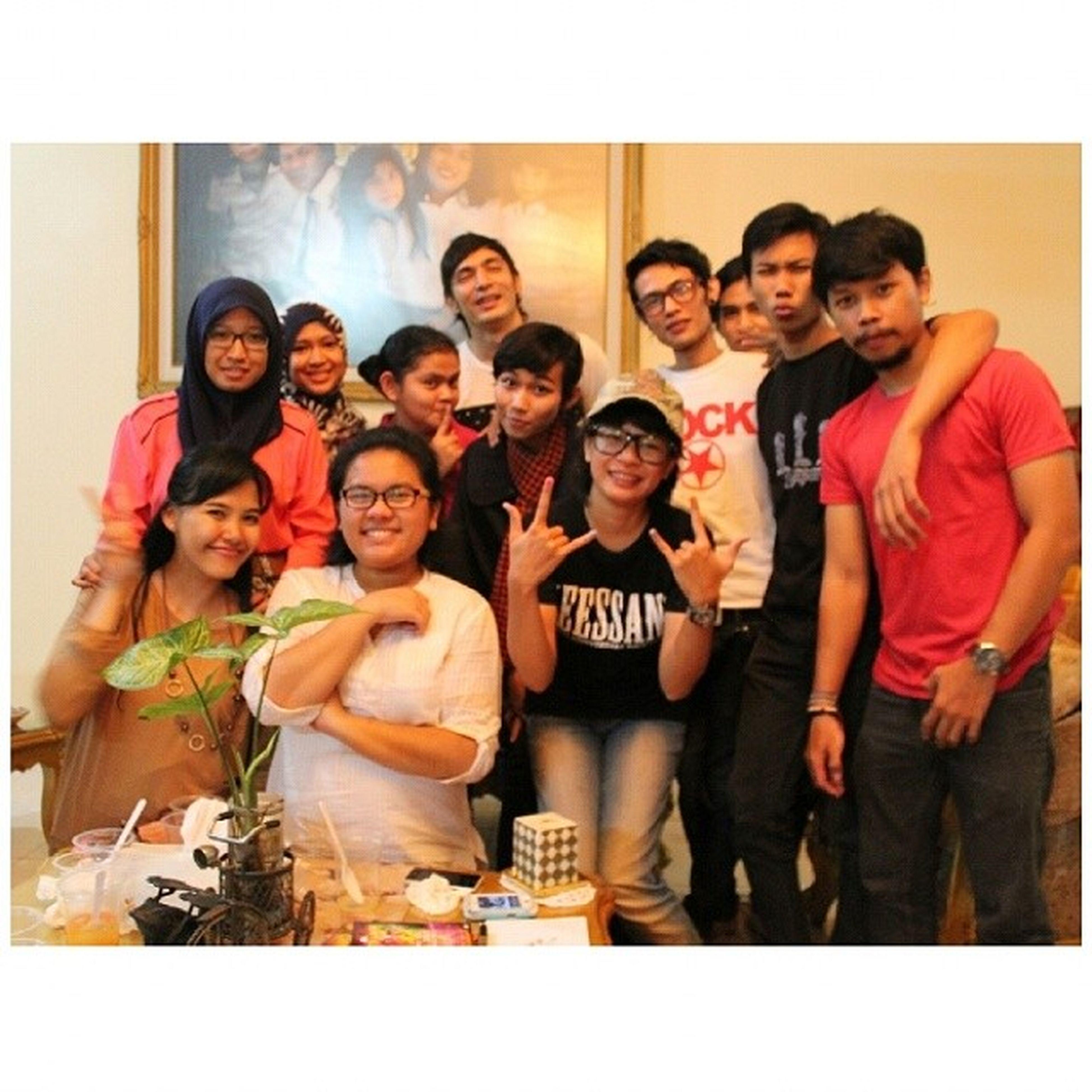 Makasih semuanyaaaaaa Fanbase Abimana Abimanatic Love breakfasting friendship band like nofilter ramadhan