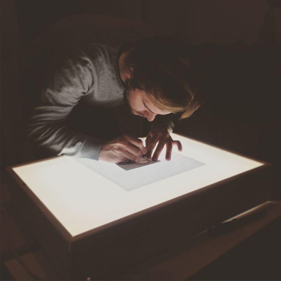 Beautiful stock photos of drawings, 20-24 Years, Art, Bending, Berlin