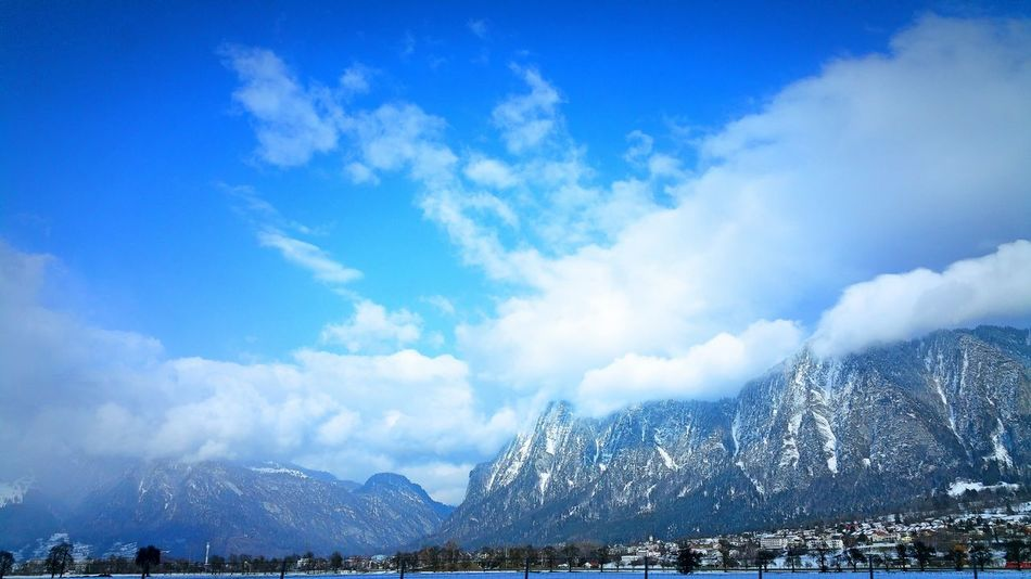 Switzerland Graubünden Zizers Mountains Mountains And Valleys Mountain View Mountains And Sky Bluesky Sky Sky And Clouds Hanging Out Taking Photos Wayhome Photo In Car Photooftheday Photo Relaxing Nature Sun Sunshine Cityscapes White Clouds Anothershooting Good Afternoon Enjoying Life