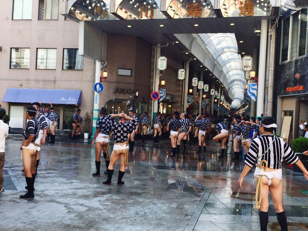 山笠 Yamakasa Nakasu 褌 ふんどし Fundoshi Traditional Culture Traditional Clothing Traditional Costume Men Japan Photography Japan Japanese  Yamakasa Festival Large Group Of People Japanese Men Japanese People