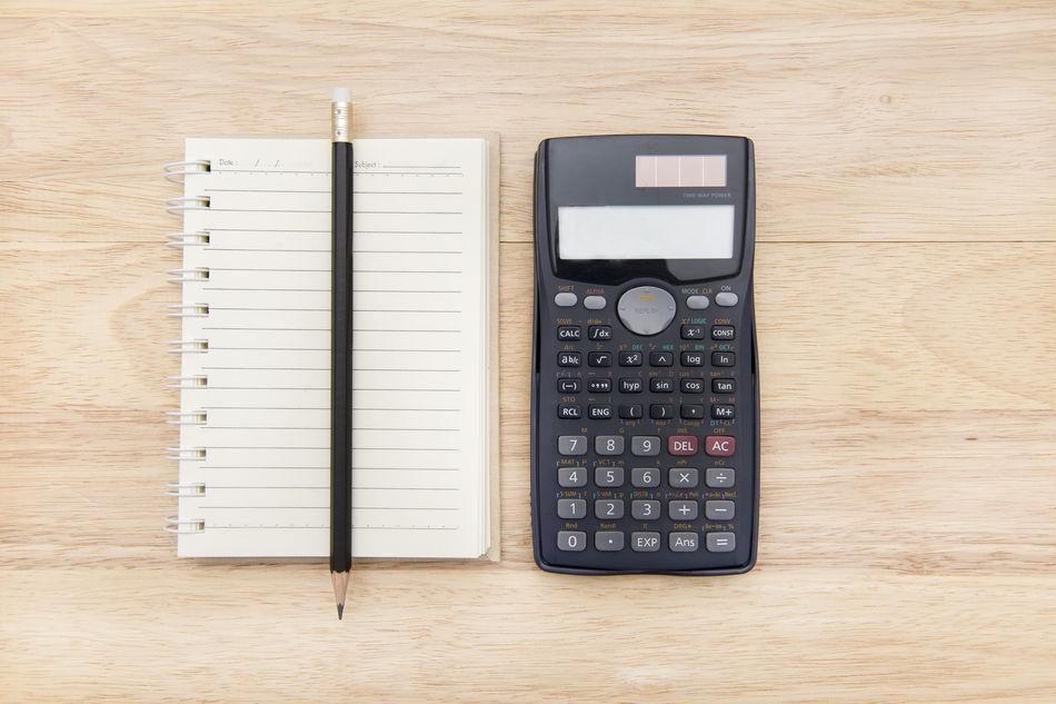 Beautiful stock photos of business, Blank, Calculator, Finance, High Angle View