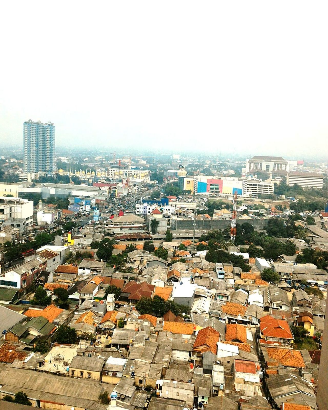 City Cityscape Architecture Business Finance And Industry Skyscraper Downtown District High Angle View Outdoors Urban Skyline Aerial View Building Exterior Day No People Sky Community 3XSPUnity INDONESIA