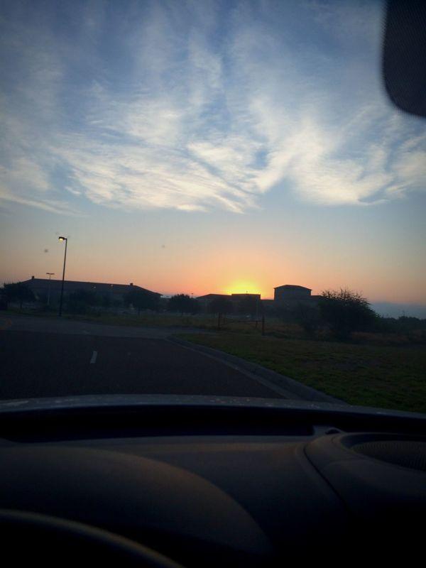 Breathtaking Sunrise before work. Life Is Beautiful Nature
