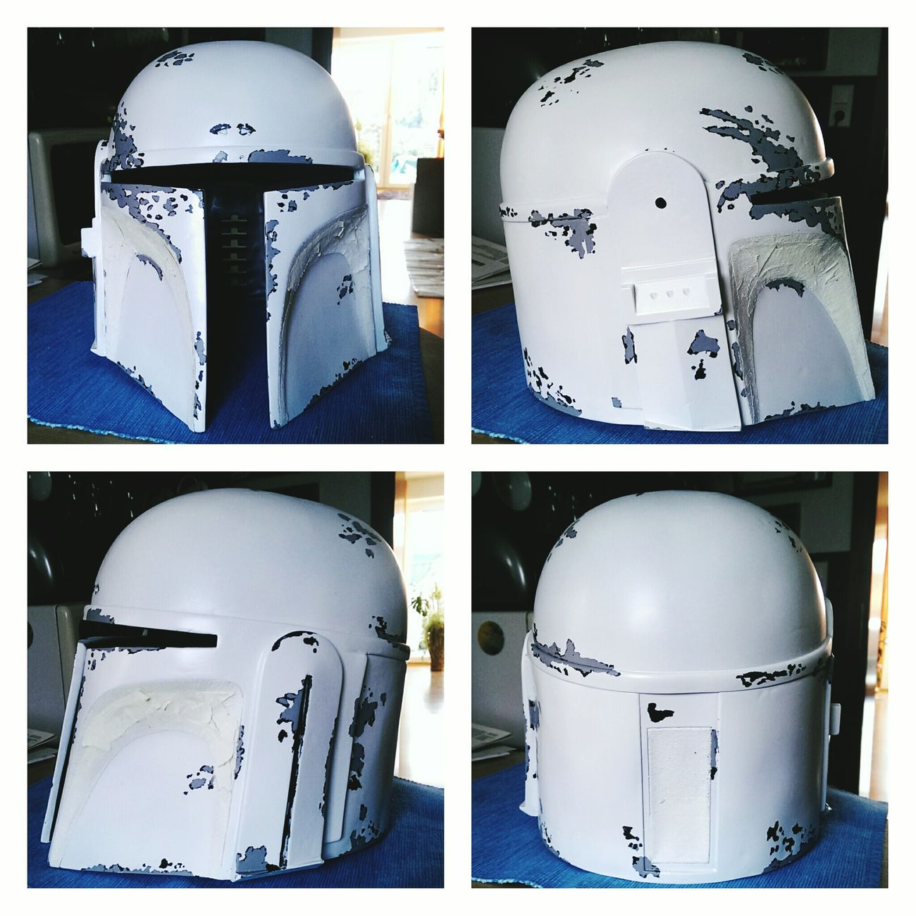 Almost done. Only red paint. Mandalorian Mandomercs Mando Cosplay Costume Starwars Check This Out
