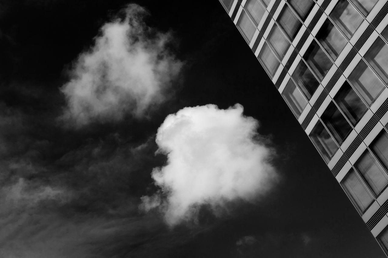Architecture Blackandwhite Clouds Contrast Minimalism Modern Simplicity Sky