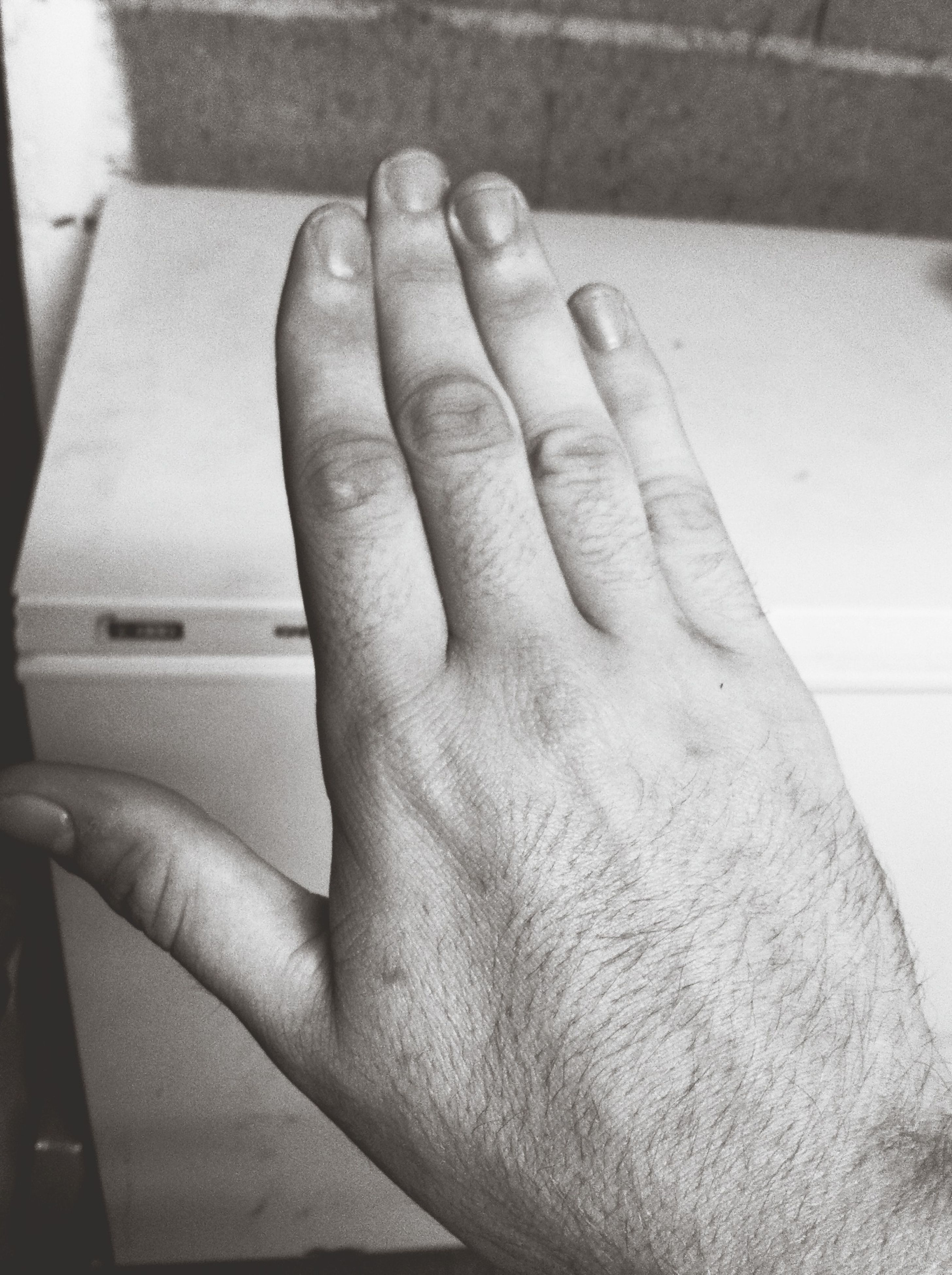 person, part of, indoors, cropped, human finger, close-up, personal perspective, lifestyles, unrecognizable person, men, low section, leisure activity, holding, human foot, day