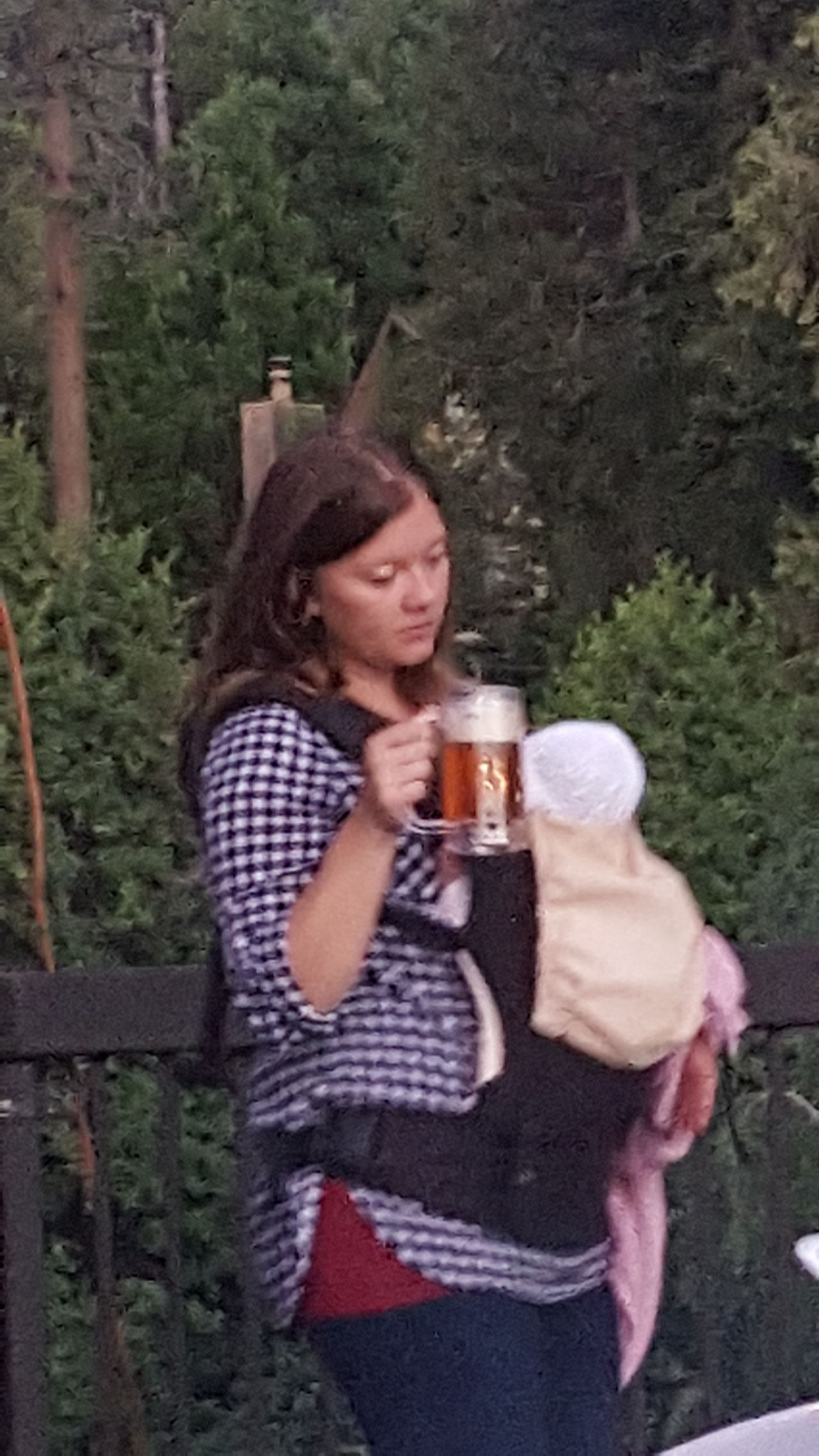 Baby And Beer