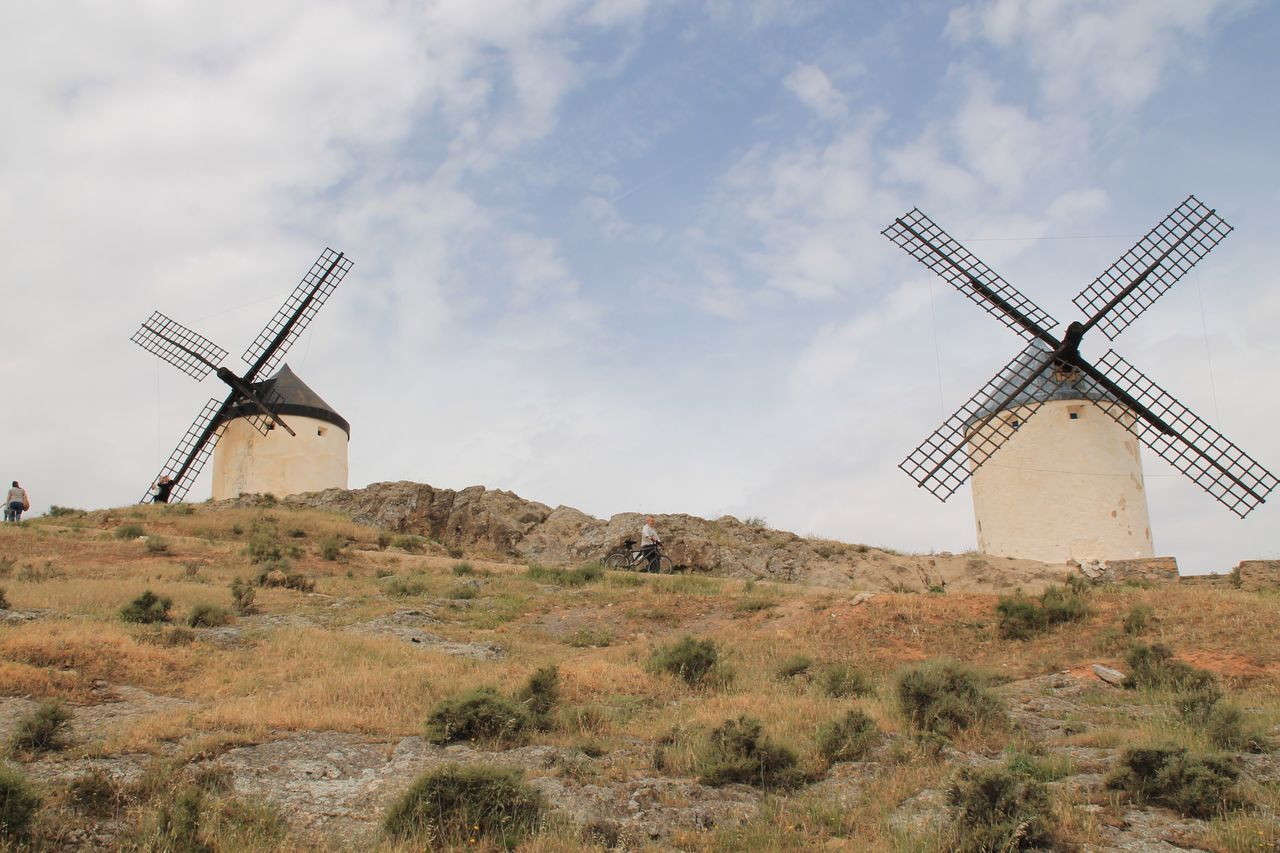 Beauty In Nature Architecture Consuegra Travel Destinations Taking Photos Hanging Out Check This Out Enjoying Life Don Quijote La Mancha Nature Wind Power Windmill Traditional Windmill Field Rural Scene Sky Day Technology Landscape No People Outdoors Nature Built Structure Architecture
