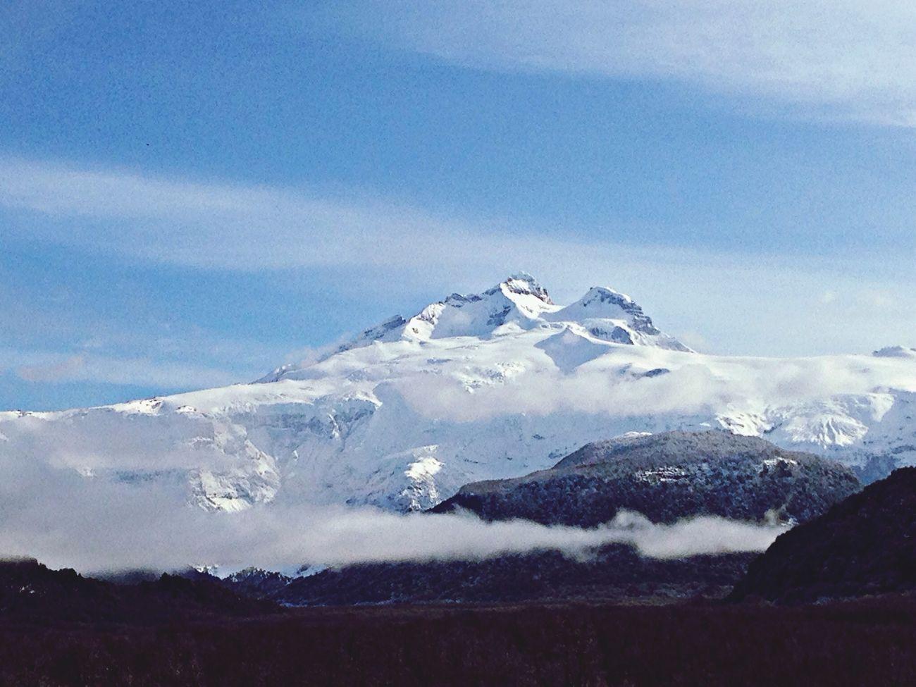 Cerro Tronador Mountains Snow Nature