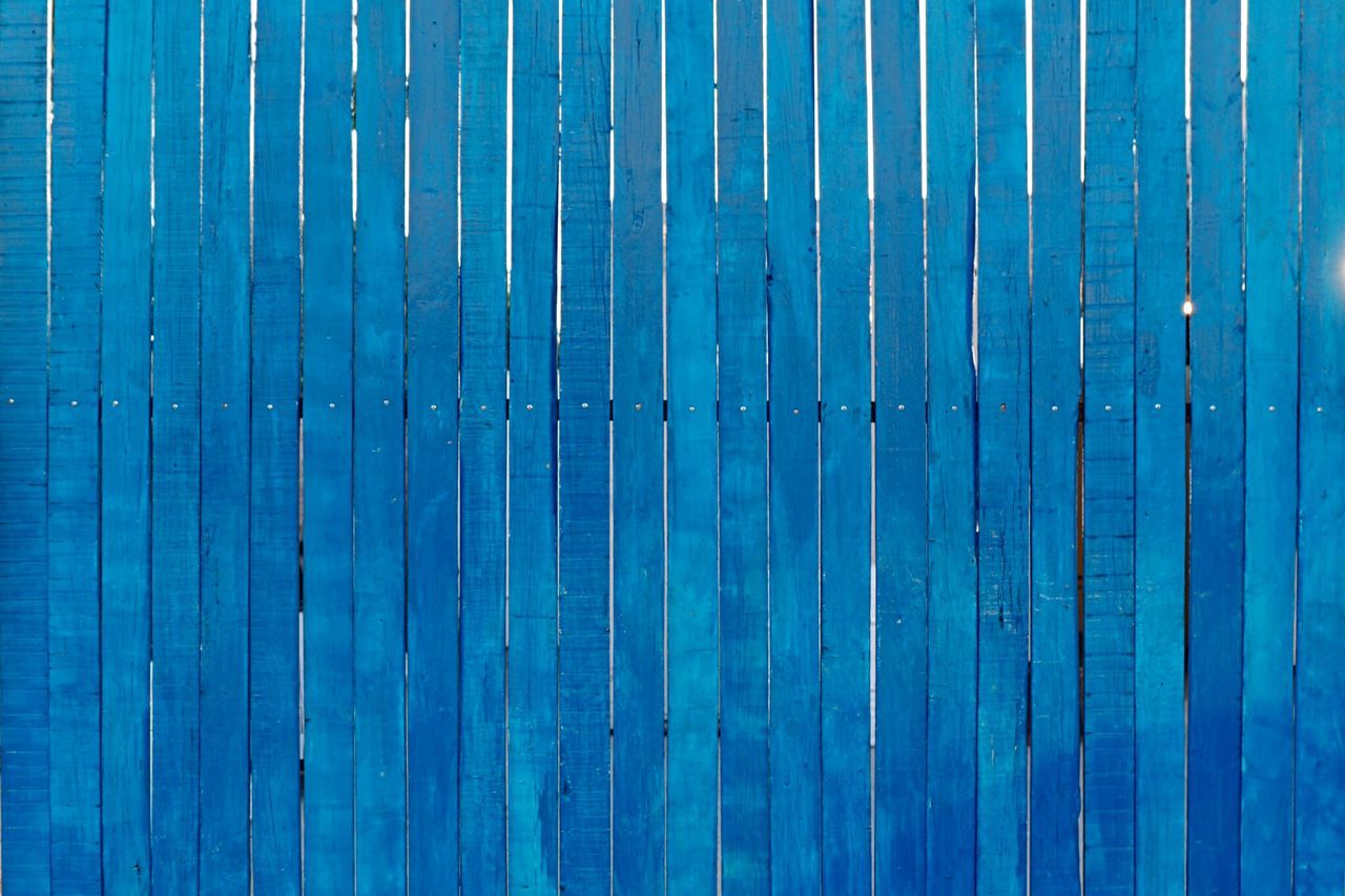 Blue is the warmest color Blue Color Portrait Blue Is The Warmest Color Fence Wood Open Edit Minimalism Simplicity Streetphotography Streetart Pattern Pattern Pieces Pattern, Texture, Shape And Form Wooden Wood - Material Full Frame Madera Azul Puerta Door Doors Textures And Surfaces Texture Beauty In Ordinary Things Color