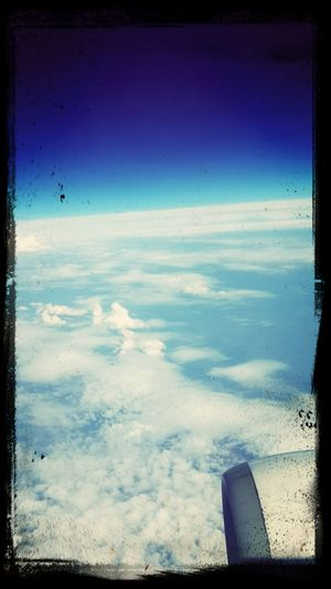 В небе над Италией