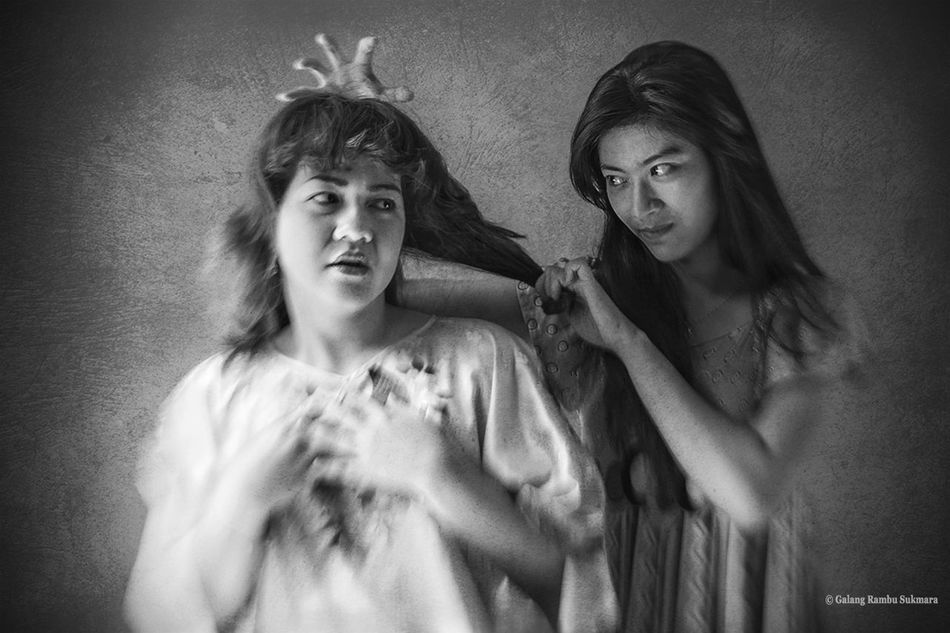 Iscream Angel Or Devil? Peoplewatching Blackandwhitephotography