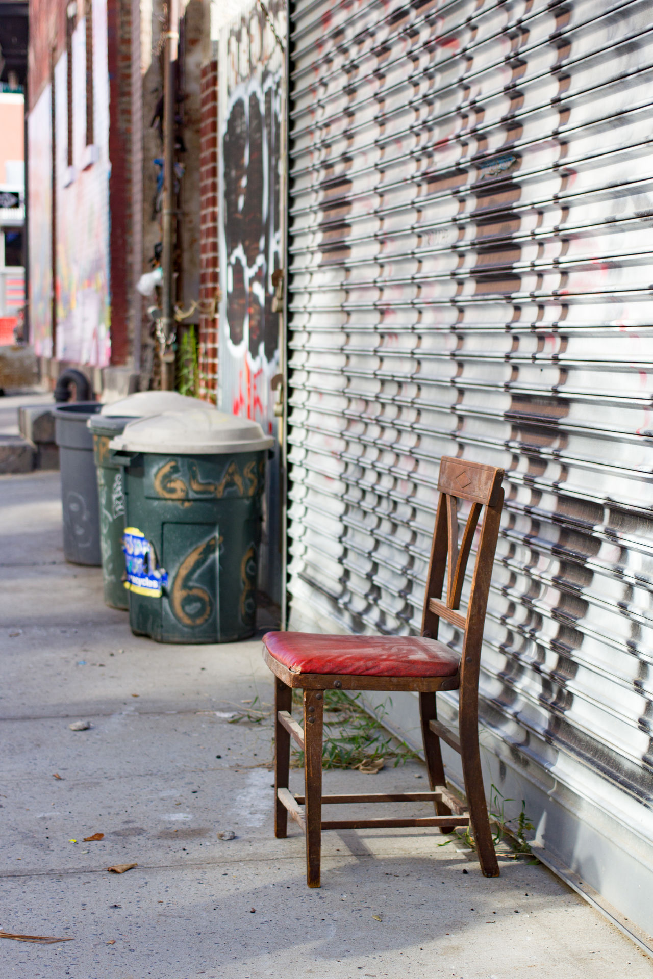 Hobo seating inc. Chair Have A Seat In A Row No People Red