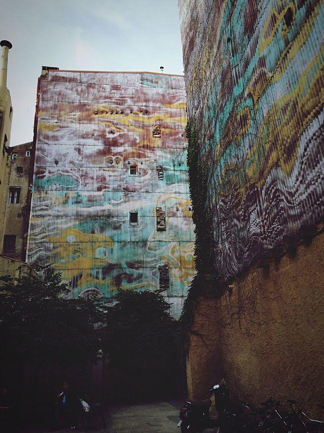 Barcelona Barcelonalove Urban El Gotic Graffiti Wall