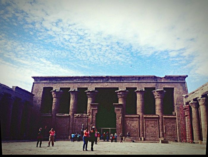 One fine morning in Egypt ... Loved it Enjoying Life Egyptology Edfu Temple 😍😎