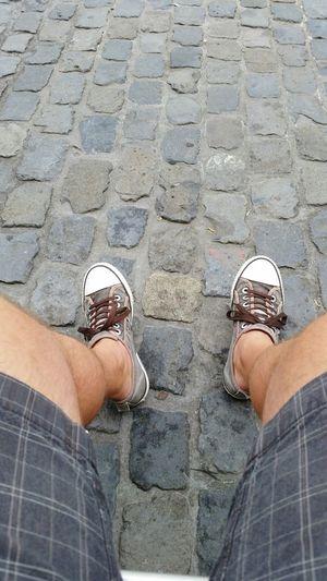 Meine Füße Hello World Taking Photos Outdoor Photography Steine Pflastersteine Schuhe  Wege Two Is Better Than One Out Of The Box