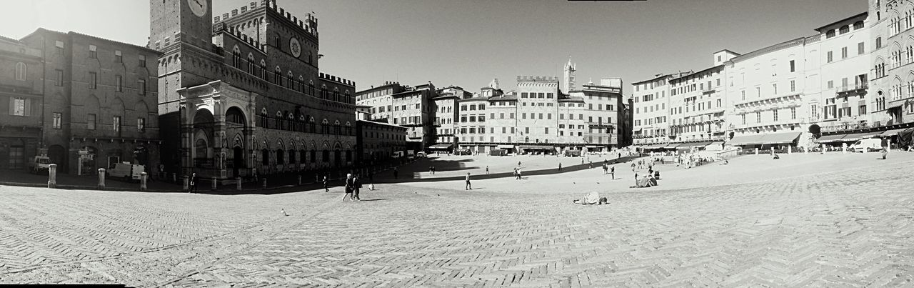 Siena Piazza Del Campo Historical Building IPhoneography