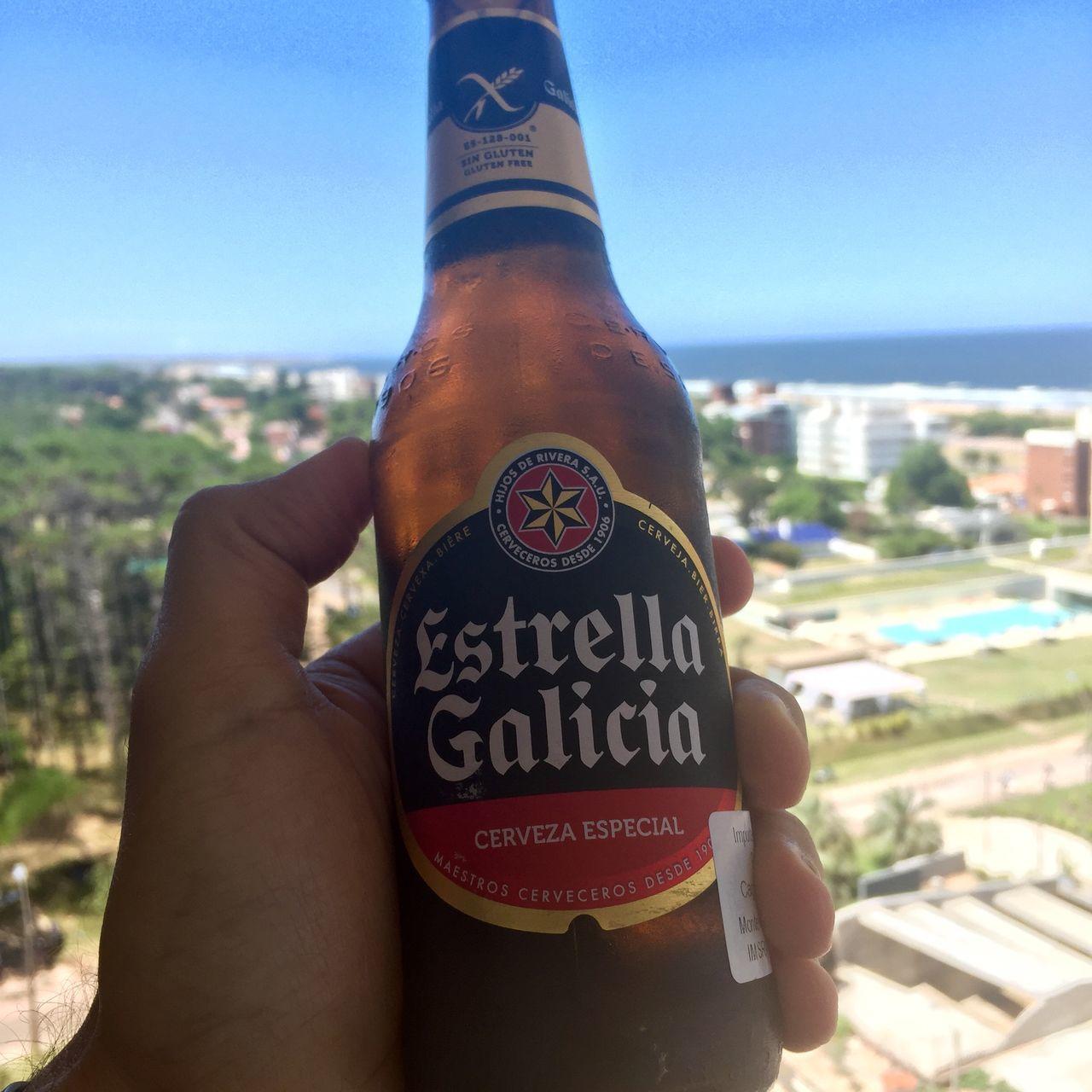 Cerveza Beer Birra Estrellagalicia Estrella Galicia Bier Puntadeleste Playa Beach Summertime Holidays