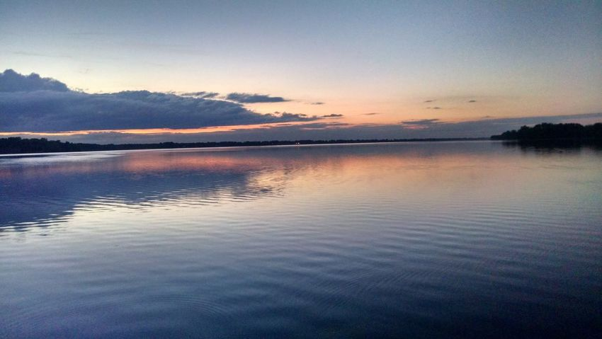 This was taken along Lake Champlain in Vermont. It is a beautiful sunset on the lake. Sun Sunset Sunset_collection Beautiful Nature Beauty In Nature Sky And Clouds Sky Cloud