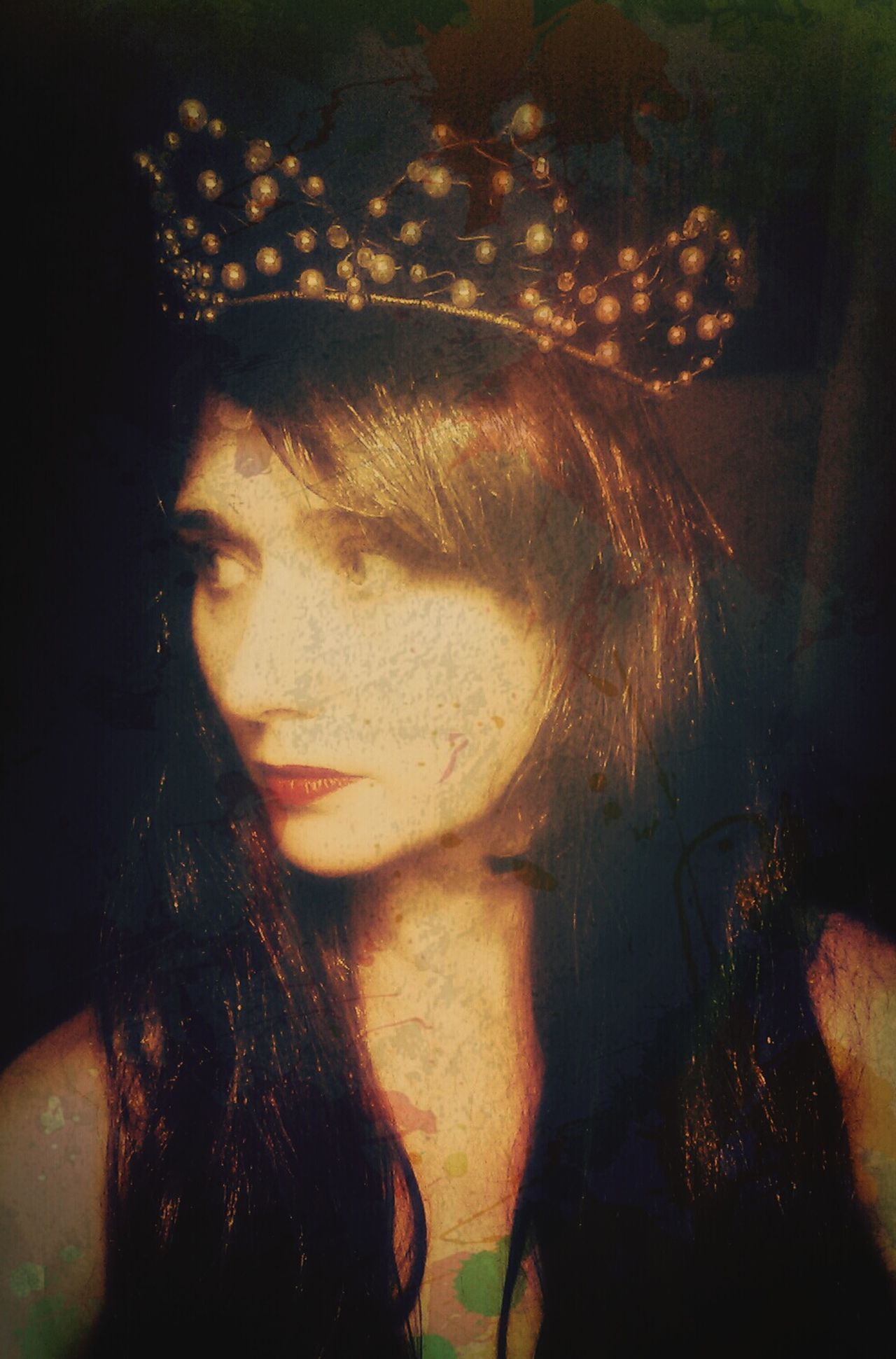 """Life is pain, Highness. Anyone who says differently is selling something"" - The Princess Bride Princess Crown Self Portrait"
