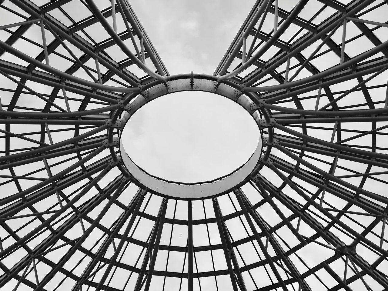 Architecture Black&white Blackandwhite Blackandwhite Photography Building Exterior Building Story Buildings Buildings & Sky Buildingstyles Built Structure Cloud - Sky Concentric Day Geometry Italy Low Angle View Modern No People Outdoors Pattern Sky Urban Geometry Urban Lifestyle Urban Skyline Urbanphotography