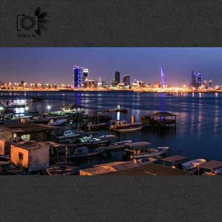 مساء الخير والاحساس والطيبة مساء ما يليق إلا بأحبابي Bahrain Muharraq Manama Riffa Riflection Shadow Summer Sun Set Instamood Instapic Insta