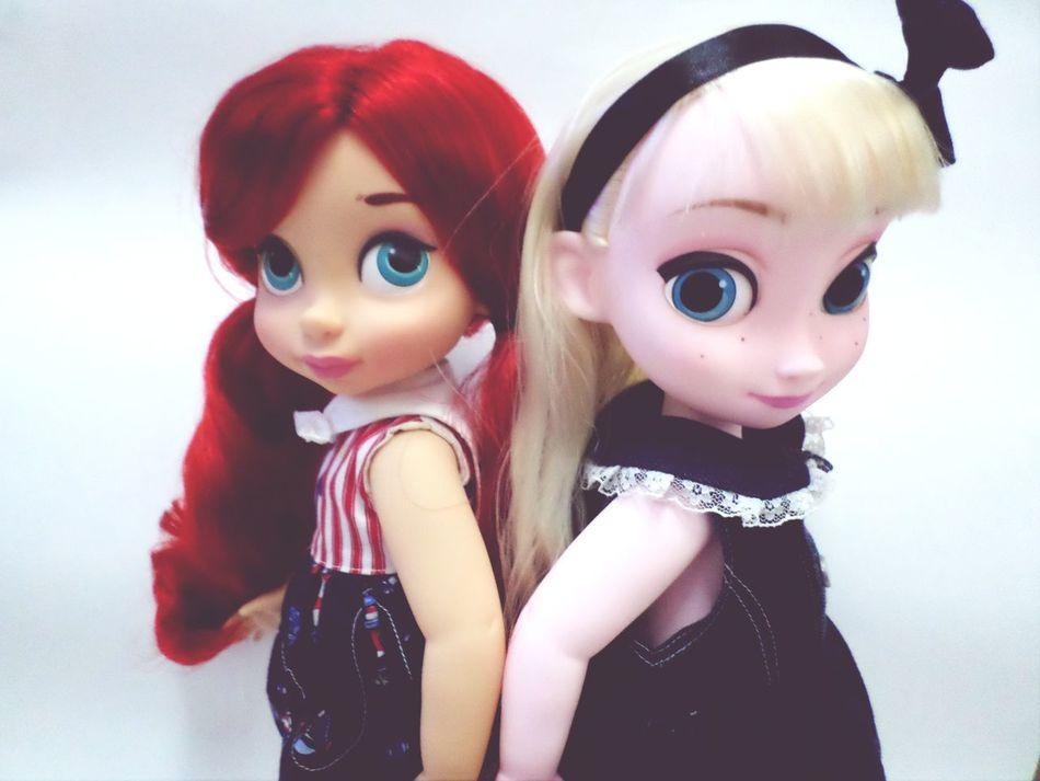 Hello hello ~~ Ariel Elsa Disney Animator