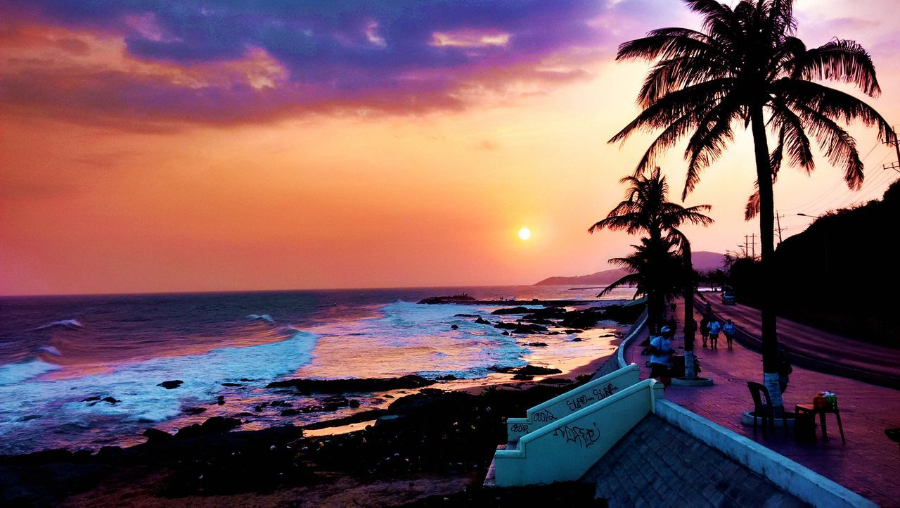 Beach Beautiful Day Beauty In Nature Nature Phan Thiet Phan Thiet, Viet Nam Sea Sunset Travel Destinations Travel Photography Vietnam