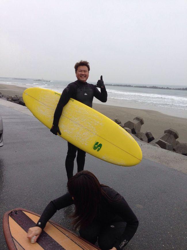 new Surfing Sea 太平洋 サーフィン Tahara 海