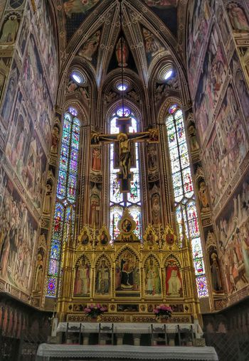 Religion Built Structure Altar Architecture Santa Croce Cathedral FlorenceItaly Florence Gothic Architecture
