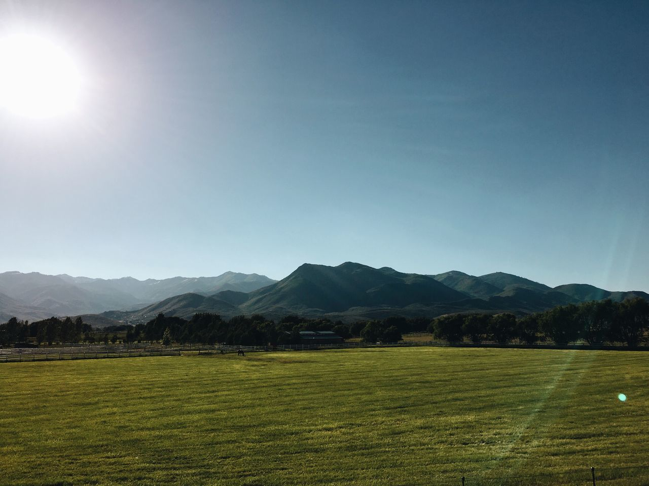 heber valley on a perfect night. Hebervalley
