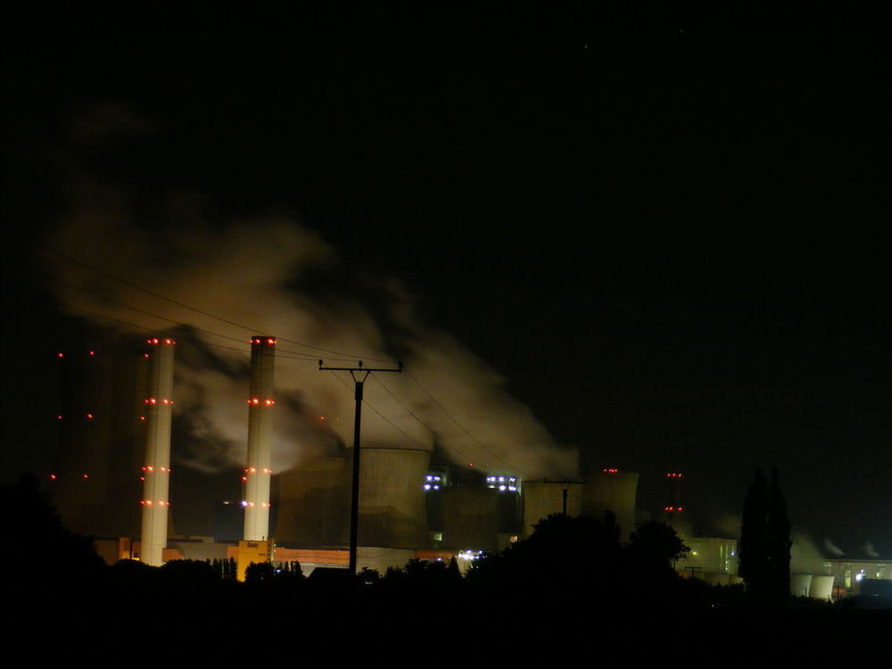Power Plant Architecture Built Structure Illuminated Modern Night No People Power Station Tall Tall - High Darkness And Light Dark Dark And Light Power Plant At Night-extreme Style