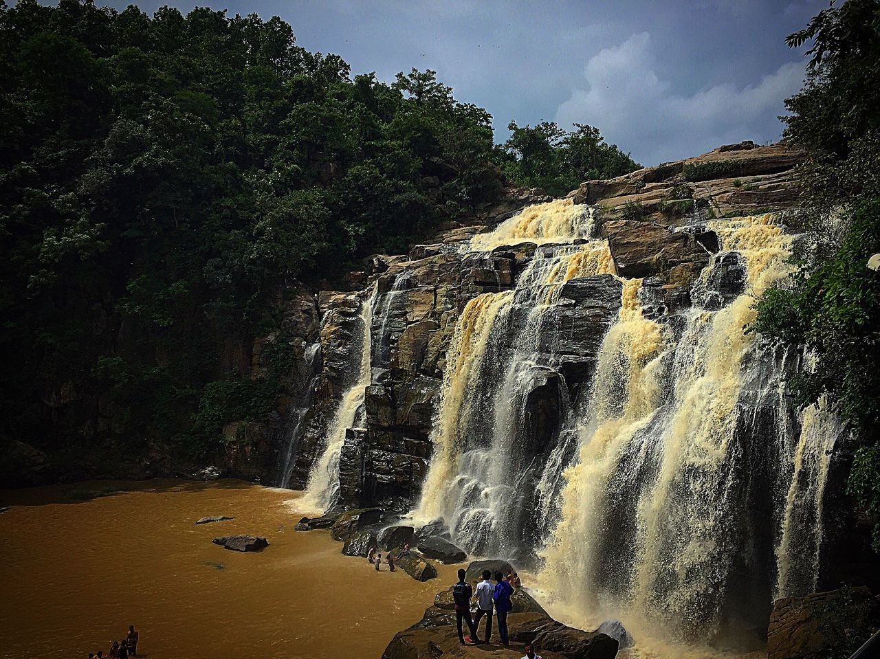 Waterfall Waterfall #water #landscape #nature #beautiful Jonhafalls India Solace