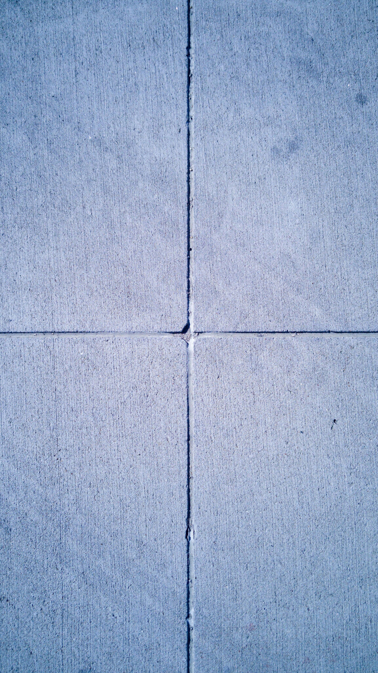 Concrete Rock Hard Surface Road Simple Clean Dirty Rough Divided Sections Quarters Equal