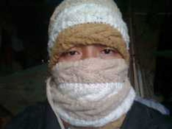 just me in winter