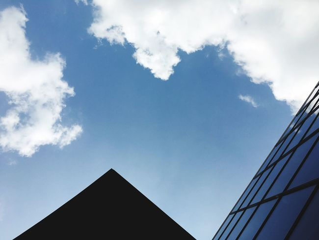 Architecture Sky Clouds Abstract
