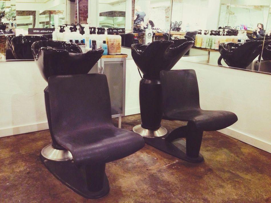 Wash Station Hair Salon Beauty Chair At The Salon