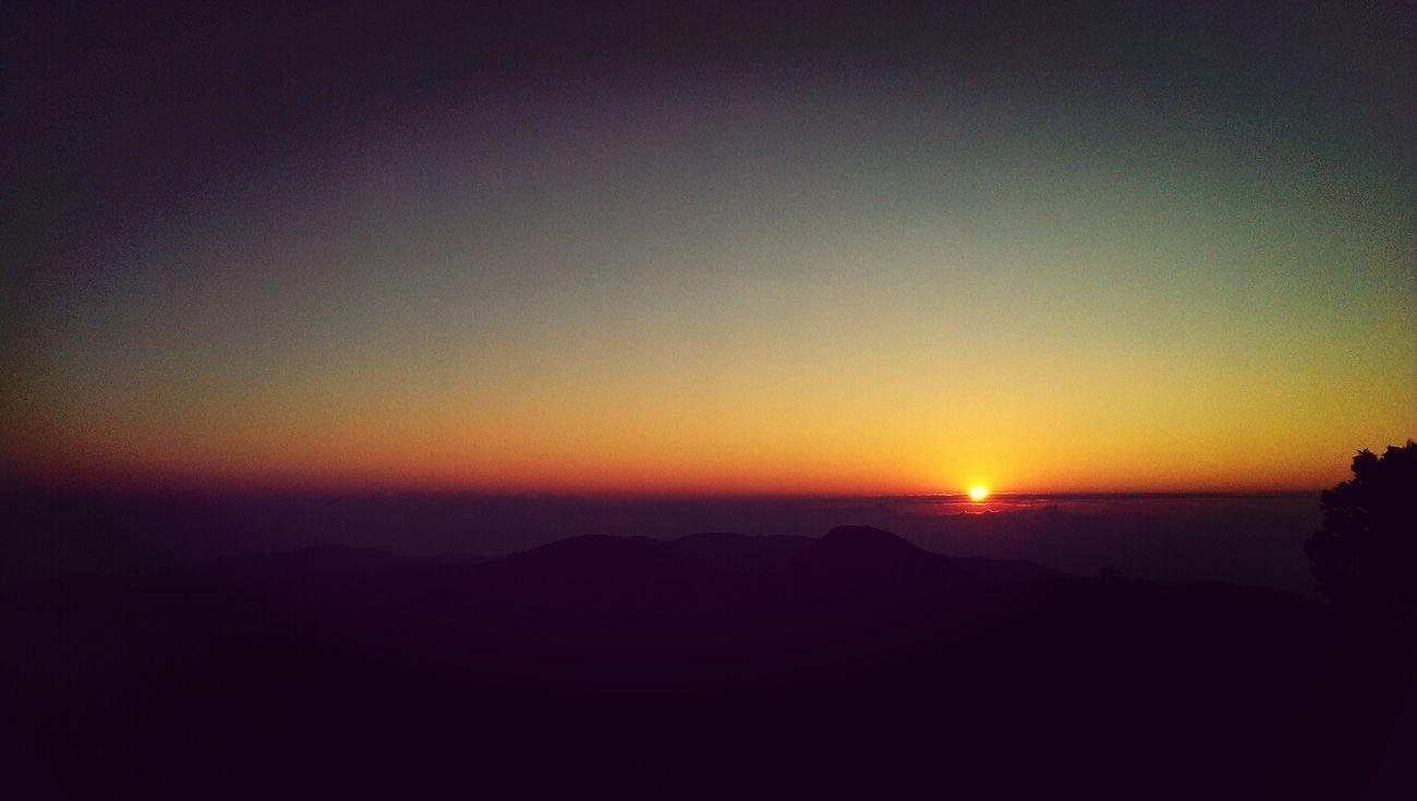 望洋山遠眺日出 Sunrise Yilan Hello World Nature