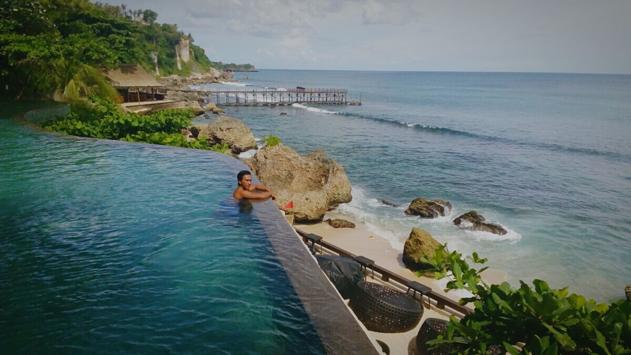 Rockbar Ayana resort and spa Travelingindonesia Natural Beauty Travel Photography First Eyeem Photo Travelling Traveller Ayanaresort Beach Bali