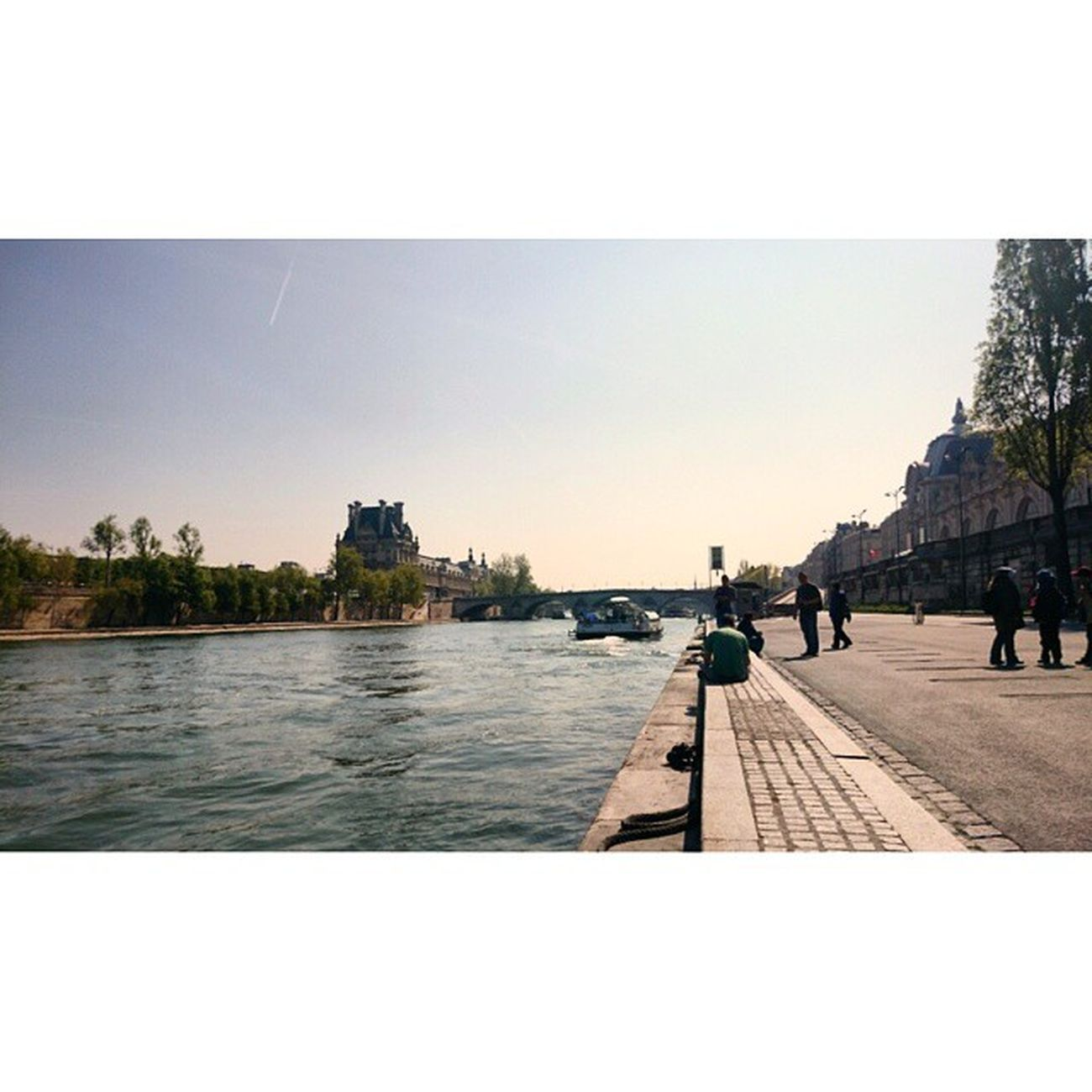 Paris Quais Berges Laseine