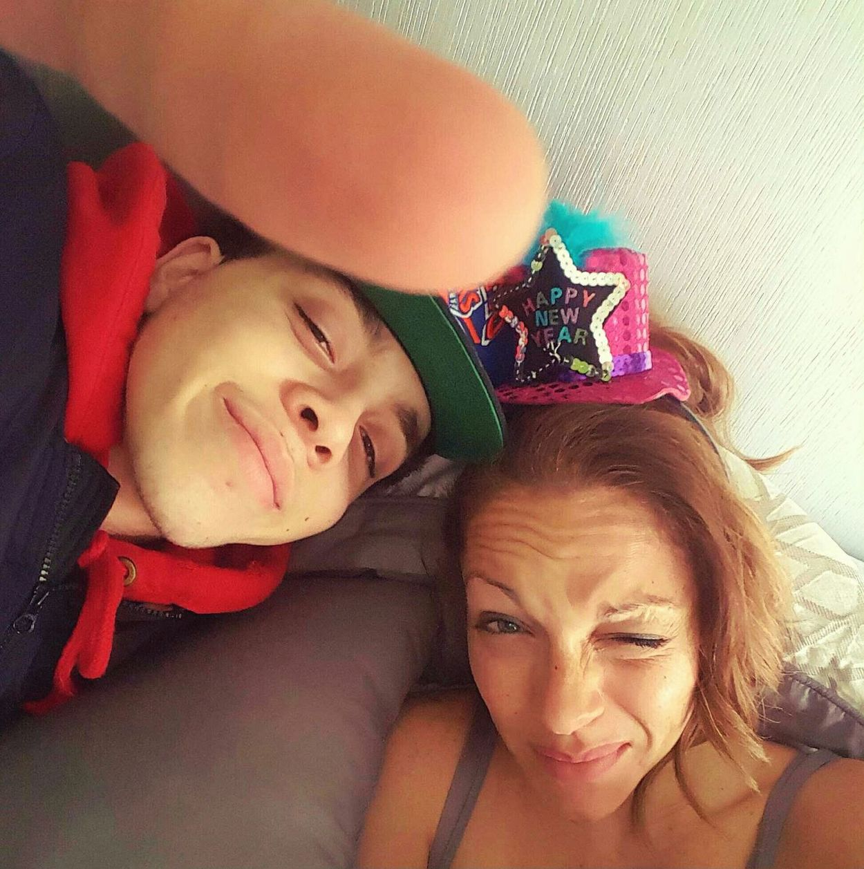 Showing Imperfection NYE2015 Mother And Son Happy People Happy Family Great Times This Is My Life This Week On Eyeem Fun Photo Of The Day Love I Love My Kid Silly Face