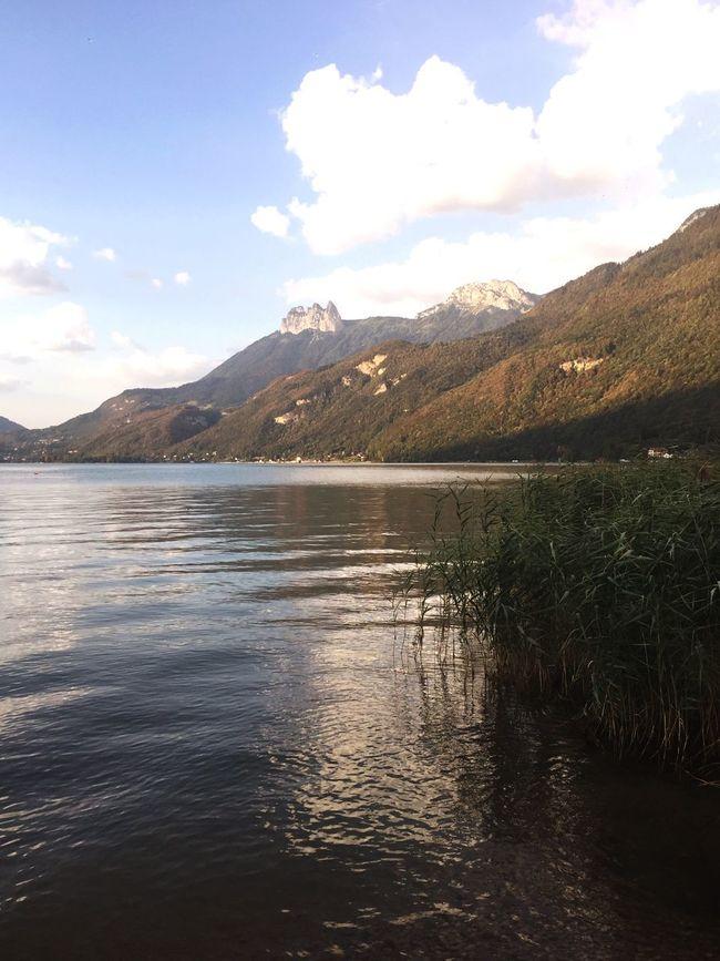 Le Bout Du Lac Hautesavoie Beauty In Nature Nature_collection Landscape_Collection Landscape Lake Lakeside Mountains